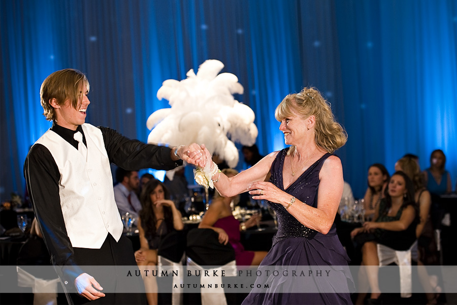 DCPA denver seawell ballroom wedding mother son dance