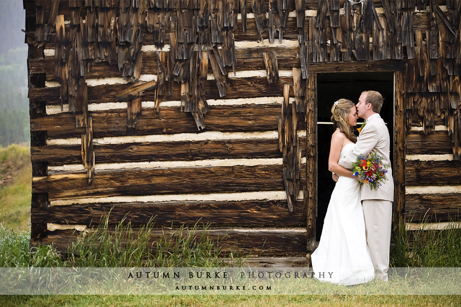 keystone ranch rustic mountain colorado wedding historic cabin