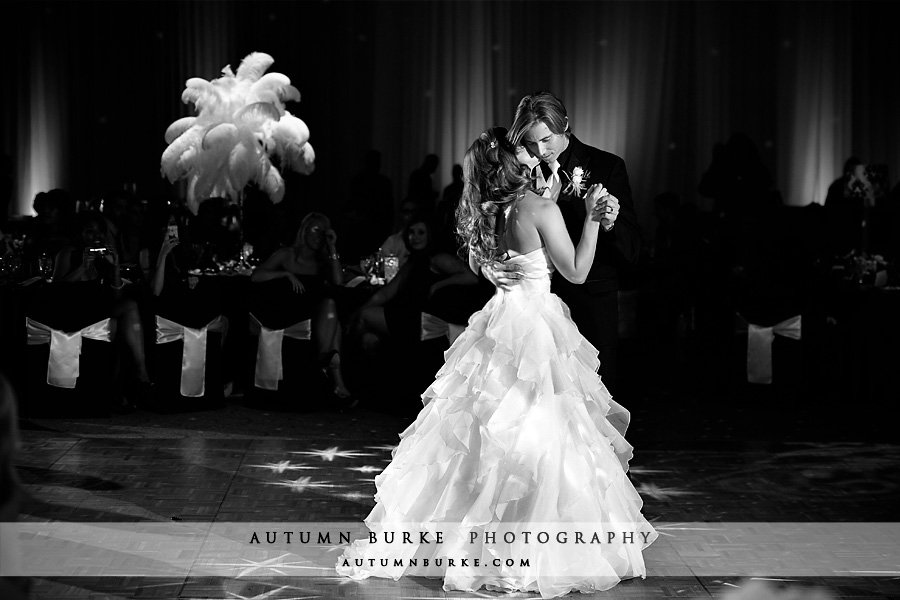 seawell ballroom wedding DCPA first dance downtown denver colorado
