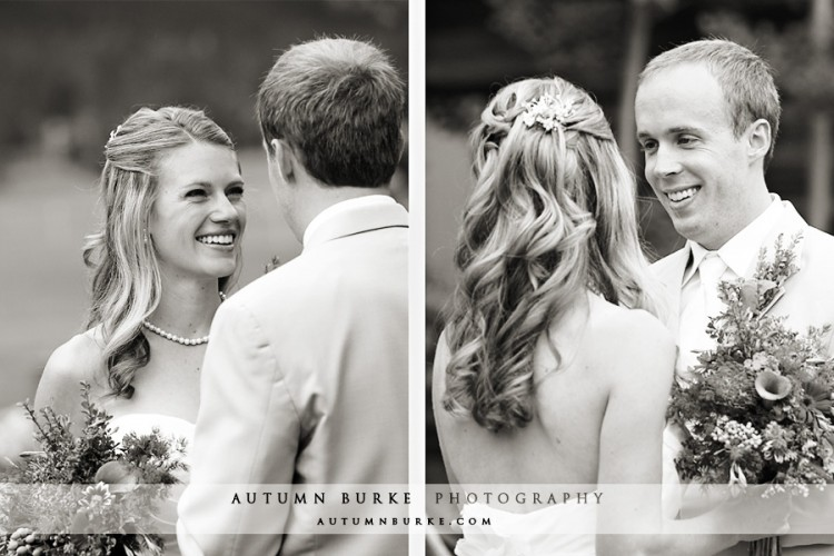 colorado wedding bride groom first look keystone ranch