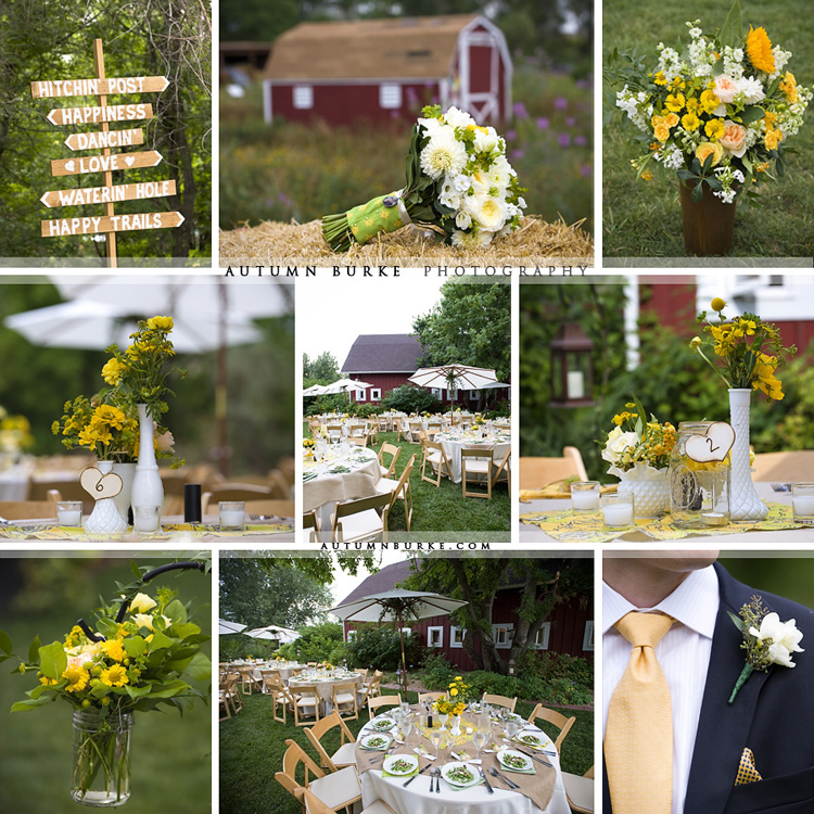 botanic gardens at chatfield rustic barn wedding details burlap vintage