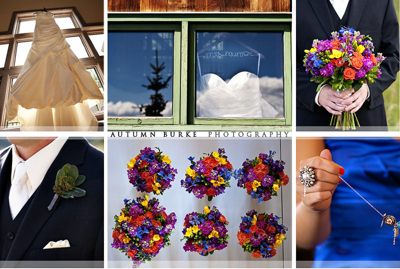 colorado mountain wedding details dress flowers bouquet rings keystone ranch