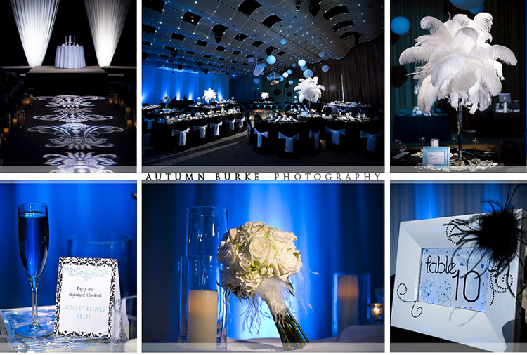 dcpa seawell ballroom denver colorado vintage wedding details floral decor lighting