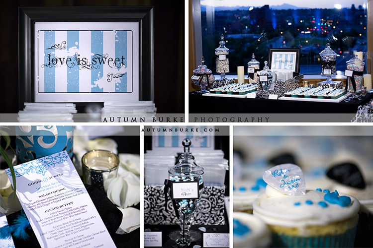 dcpa seawell ballroom denver wedding love is sweet candy bar