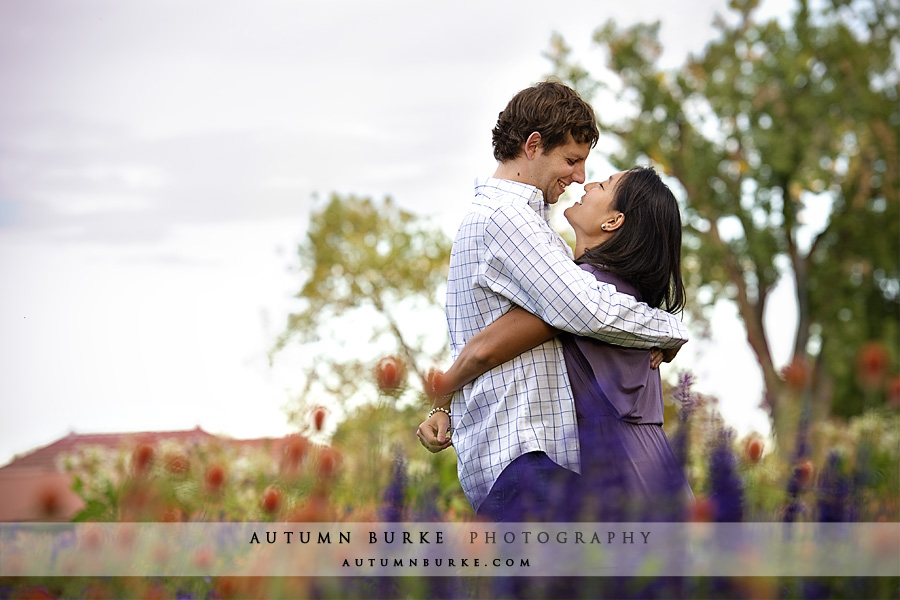 denver engagement session at washington park wash park