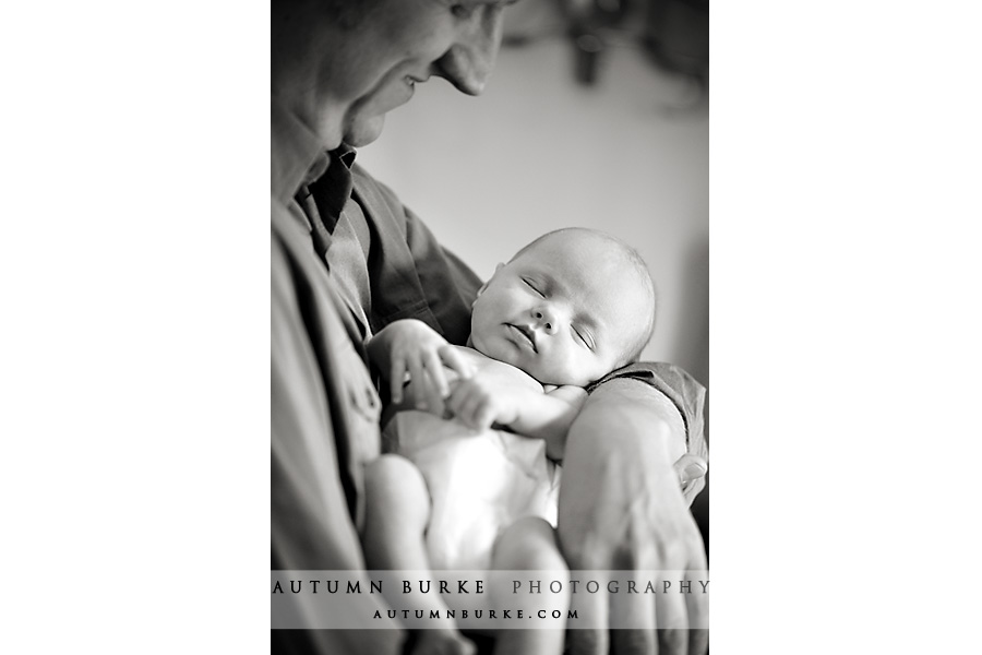 denver colorado sleeping baby newborn portrait