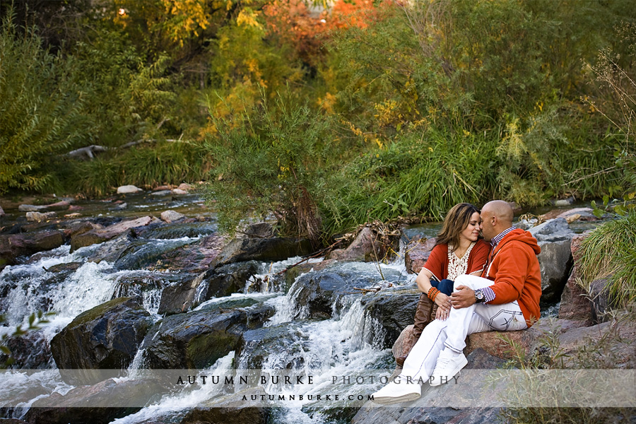 cherry creek denver colorado engagement family portrait session fall