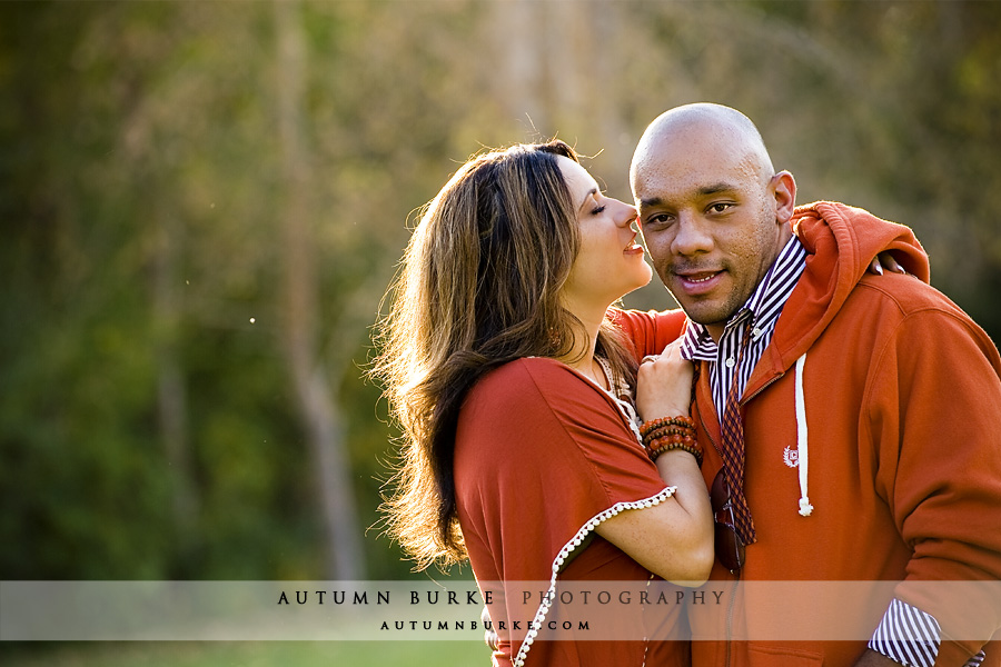 cherry creek denver fall autumn engagement portrait session