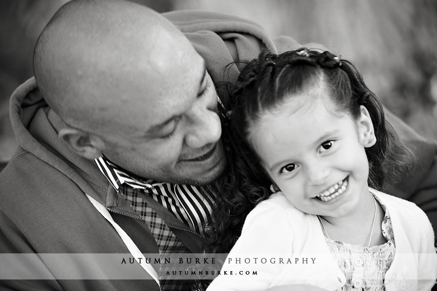 denver colorado cherry creek father daughter family portrait laughter