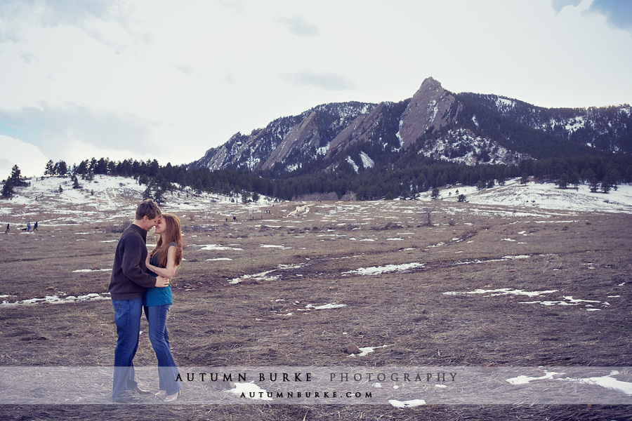 colorado mountains chautauqua boulder wedding engagement session flatirons