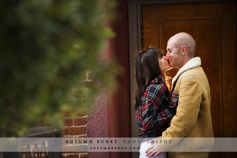 denver colorado downtown urban wedding engagement session alley