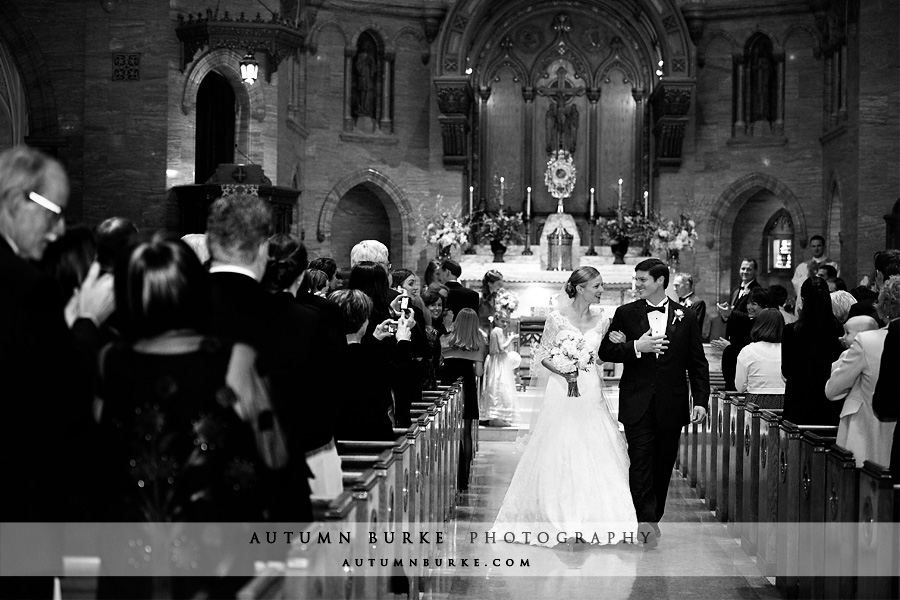 denver colorado wedding ceremony holy ghost bride groom