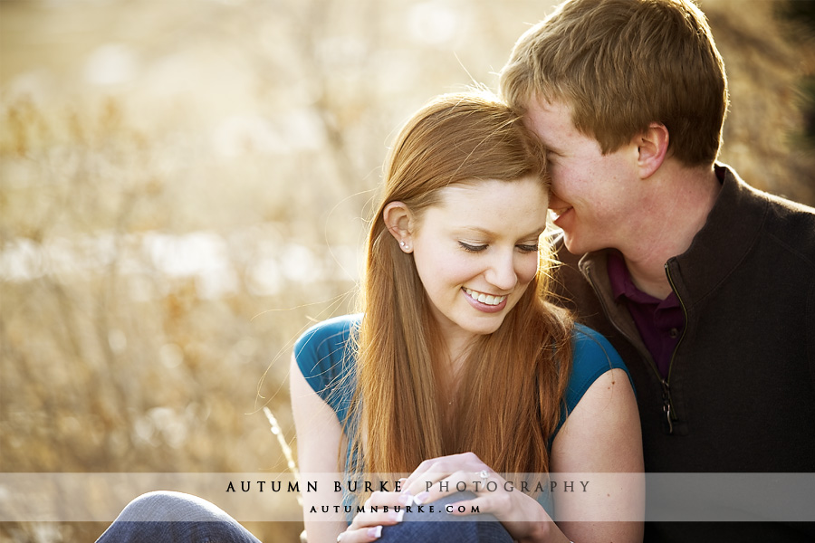 boulder colorado wedding engagement portrait session