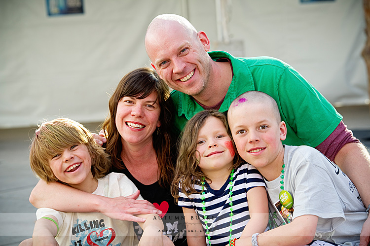 denver colorado family portrait st baldricks fundraiser
