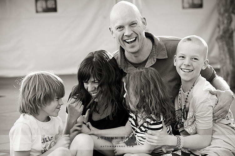colorado kids family portrait love laughter