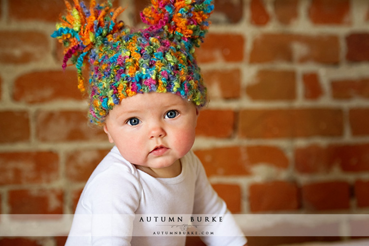 denver colorado urban baby lifestyle portrait