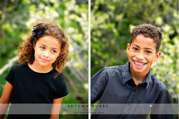 brother sister colorado red rocks family portrait photographer