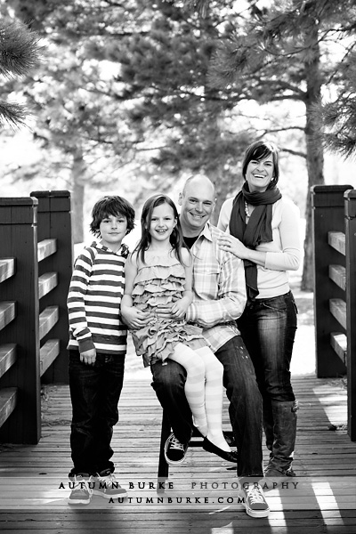 denver colorado family portrait session spring outdoors