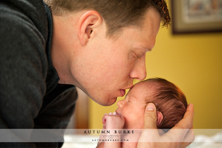daddy son denver colorado newborn baby lifestyle portrait