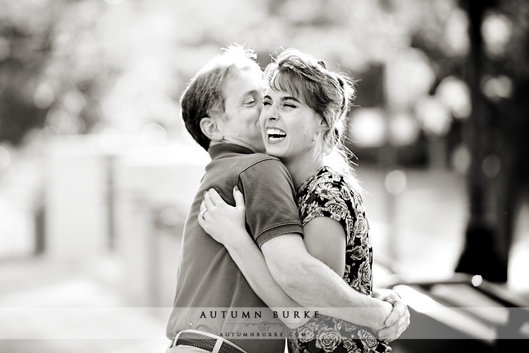 denver engagement session laughter joy