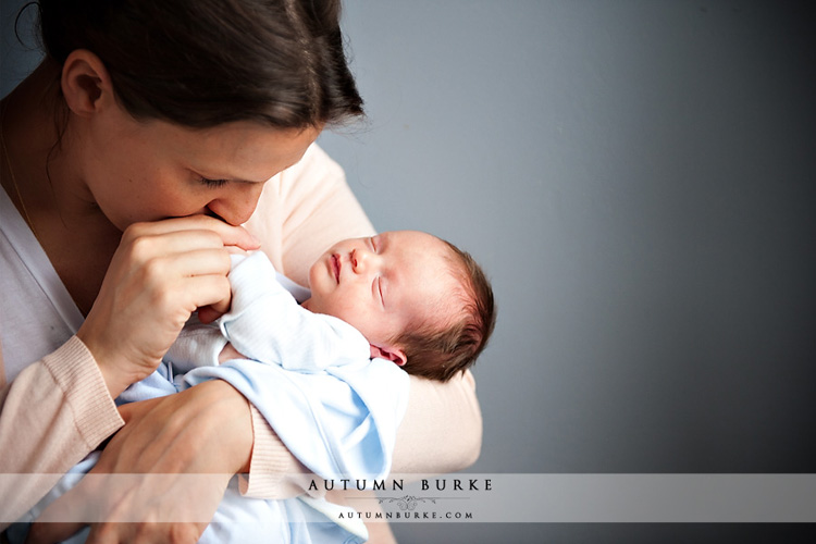 mommy son denver colorado newborn baby lifestyle portrait