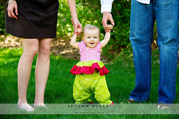 colorado baby holding hands portrait