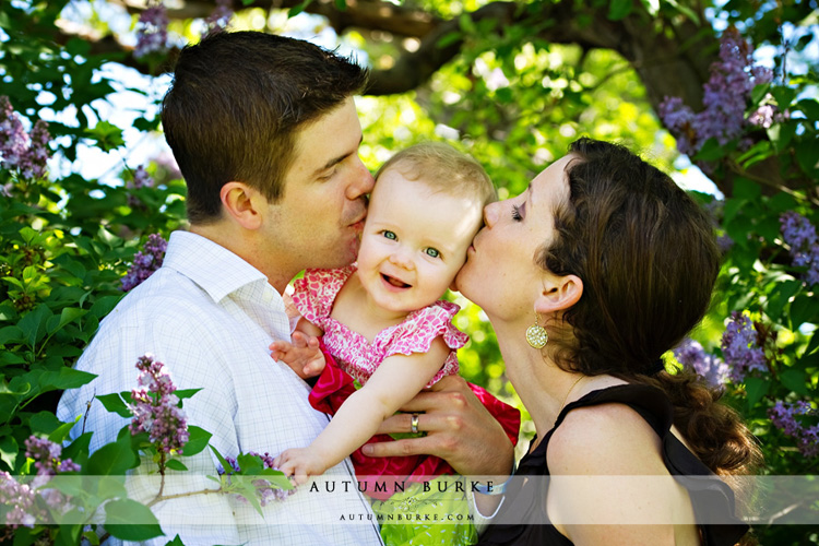 denver colorado lifestyle family portrait session spring outdoors baby