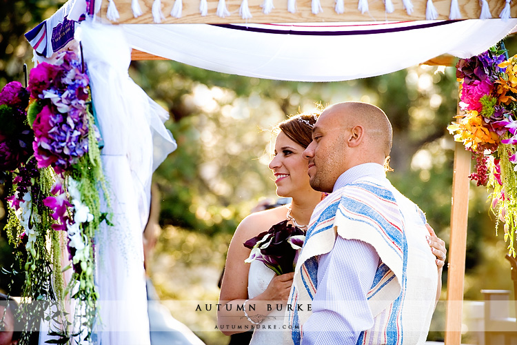 jewish wedding ceremony chuppah bride groom mt vernon colorado