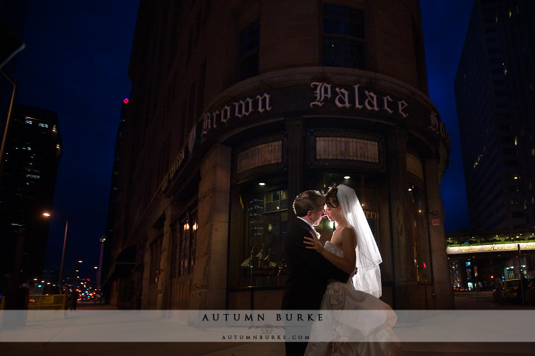 denver colorado brown palace hotel wedding