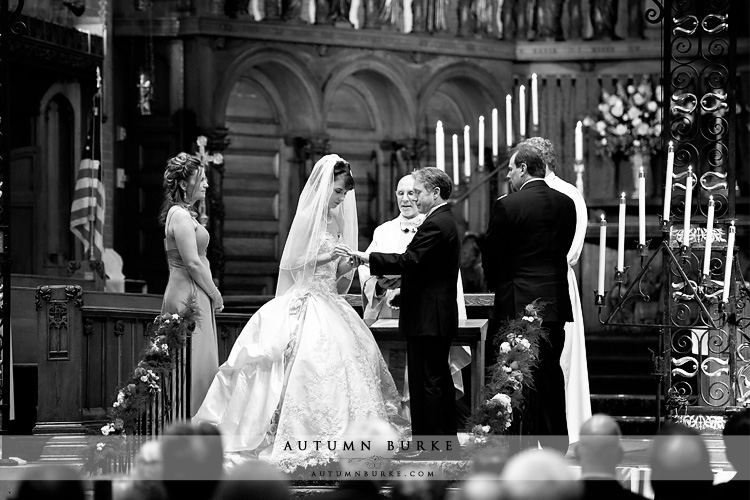 denver colorado st johns cathedral wedding ceremony vows
