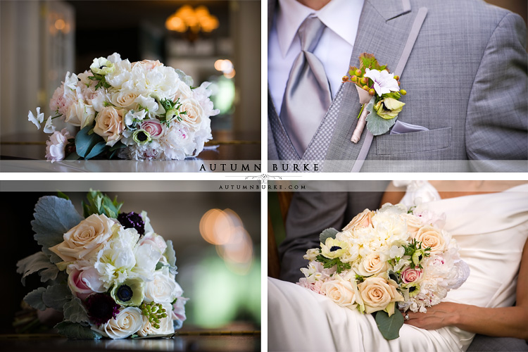 denver country club elegant colorado wedding bouquet boutonniere