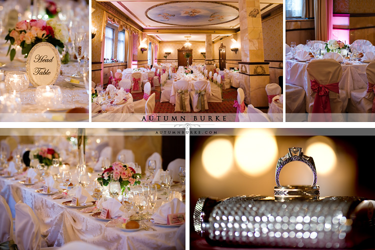 brown palace hotel wedding onxy room decor and details