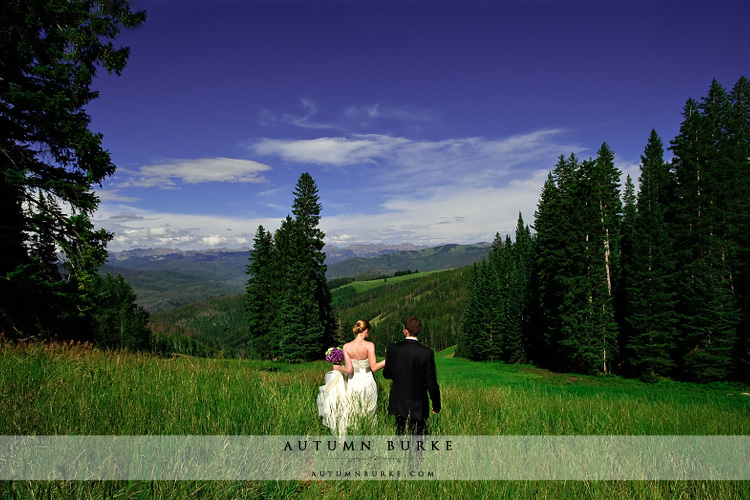 outdoor colorado mountain wedding beaver creek allies cabin