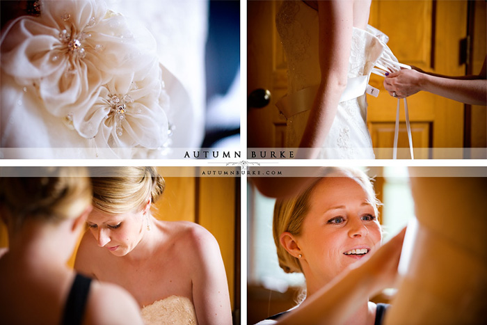 beaver creek allies cabin bridal preparations getting ready colorado wedding