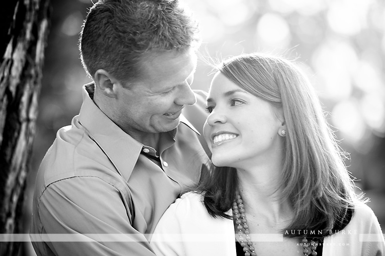 wash park denver colorado wedding engagement bride and groom