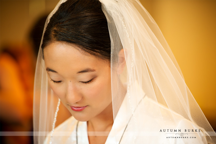 beautiful bride getting ready bridal preparations westin denver wedding colorado