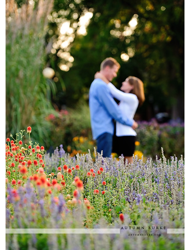 wash park denver colorado wedding engagement session flowers