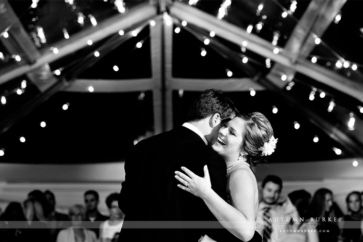 first dance bride and groom crooked willow larspur colorado wedding