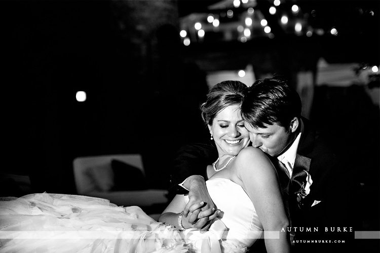 bride and groom portrait courtyard lounge crooked willow larkspur wedding colorado
