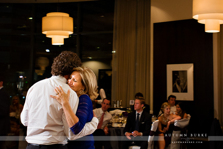 denver westin colorado wedding mother son dance