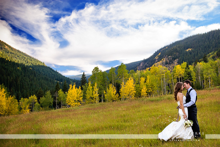 beaver creek wedding mountain aspen beanos cabin bride and groom
