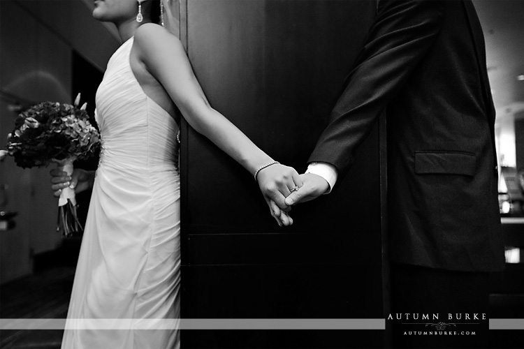 bride and groom westin denver colorado wedding