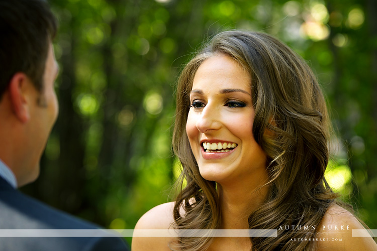 beanos cabin wedding beaver creek colorado bride first look