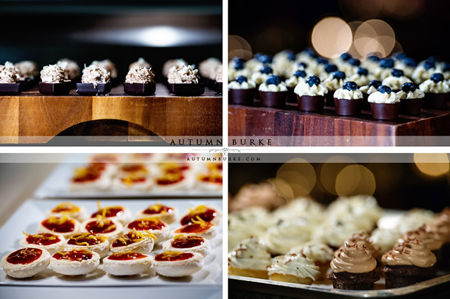 beanos cabin wedding beaver creek colorado dessert bar