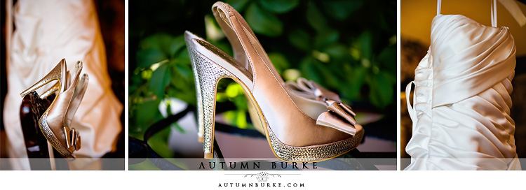 lionsgate colorado wedding dress and shoes bridal details