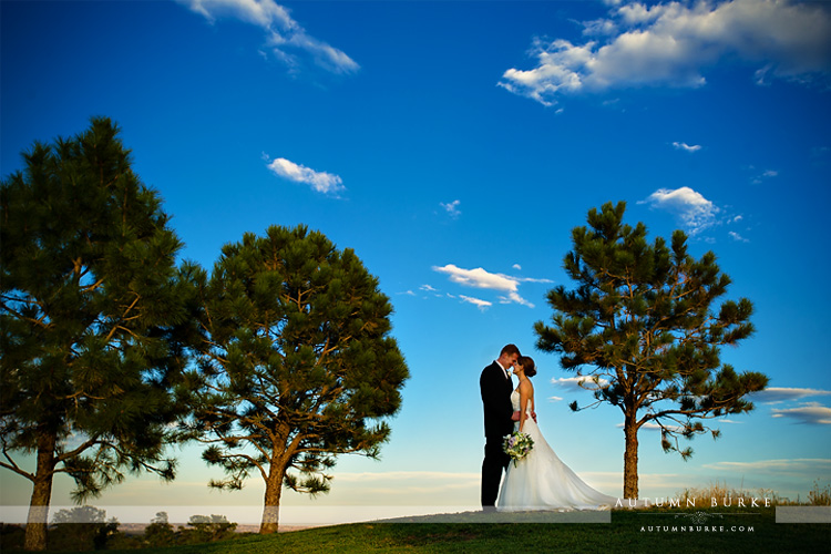 colorado wedding bride and groom big blue sky sanctuary golf club wedding sedalia