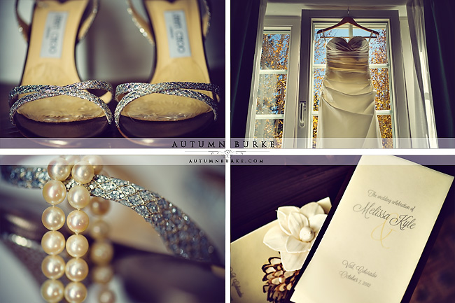 sonnenalp vail colorado wedding details dress jimmy choo shoes jewelry invitation