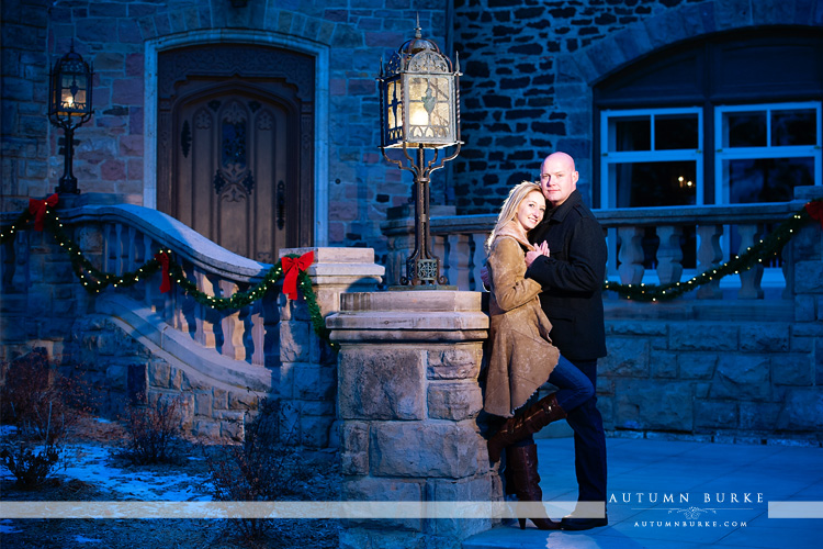 highlands ranch mansion colorado wedding engagement portrait session