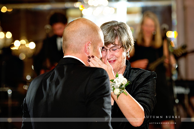 four seasons vail colorado wedding reception mother son dance