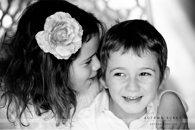 colorado family portrait session sister and brother